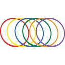 """24"""" Deluxe Colored Hoops"""