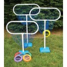 High Disc Golf Target Sets (Includes 6 Targets and 12 Discs)