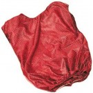 Youth Red Mesh Game Vests - Set Of 6