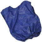 Youth Blue Mesh Game Vests - Set Of 6