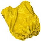 Adult Yellow Mesh Game Vests - Set Of 6