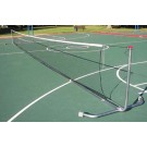 42' Standard Portable Tennis Posts With Net - 1 Pair