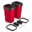 9 Gallon Trash Mate Trash Receptacle Double Unit