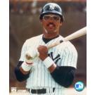 "Reggie Jackson, New York Yankees Double Matted 8"" X 10"" Photograph (Unframed)"