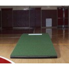 4' Wide Collegiate Pitching Mound - Green colored Turf