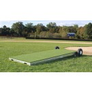 ProMounds Portable Collegiate Baseball Pitching Platform - Green Turf