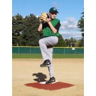 ProMounds Portable Baseball Pitching TRAINING Mound - CLAY colored Turf