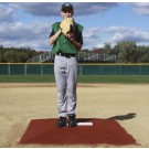 "ProMounds Little League Pitching Game Mound - ""Minor League Style"" in Clay colored Turf"