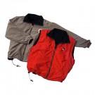 Microfiber Reversible Jacket (Medium Black/Red)