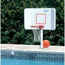 Wing-It Water Basketball Hoop Game with Deck Mount by Pool Shot