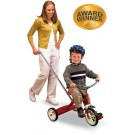 """Radio Flyer Classic Red Tricycle with Push Handle (10"""")"""
