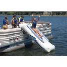 Pontoon Inflatable Slide with Inflator