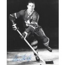 "Allan Stanley Autographed Toronto Maple Leafs 8"" x 10"" Photograph Hall of Famer (Unframed)"