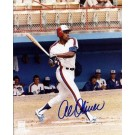 """Al Oliver Autographed Montreal Expos 8"""" x 10"""" Photograph (Unframed)"""