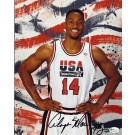 """Alonzo Mourning Autographed Dream Team USA 8"""" x 10"""" Olympic Photograph (Unframed)"""