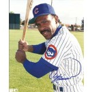 """Andre Dawson Autographed Chicago Cubs 8"""" x 10"""" Photograph (Unframed)"""