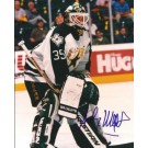 "Andy Moog Autographed Dallas Stars 8"" x 10"" Photograph (Unframed)"