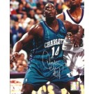 "Anthony Mason Autographed Charolotte Hornets 8"" x 10"" Photograph (Unframed)"