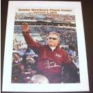 "Bobby Bowden Autographed FSU Seminoles 16"" x 20"" ""Last Game"" Canvas (Unframed)"