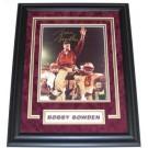 "Bobby Bowden Autographed FSU Seminoles 8"" x 10"" Custom Framed Photograph"