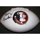 Bobby Bowden Autographed FSU Seminoles Football
