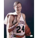 "Bill Bradley Autographed New York Knicks 8"" x 10"" Photograph (Unframed)"