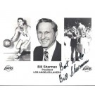 "Bill Sharman Autographed Lakers 8"" x 10"" Photograph (Unframed)"