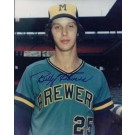 "Bill Travers Autographed Milwaukee Brewers 8"" x 10"" Photograph (Unframed)"