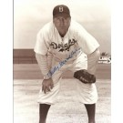 """Billy Herman Autographed Brooklyn Dodgers 8"""" x 10"""" Photograph Deceased Hall of Famer (Unframed)"""