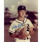 "Bobby Shantz Autographed Philadelphia A's 8"" x 10"" Photograph (Unframed)"