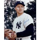 "Bob Turley Autographed New York Yankees 8"" x 10"" Photograph (Unframed)"