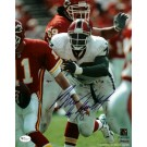"Bruce Smith Autographed Buffalo Bills 8"" x 10"" Photograph Hall of Famer (Unframed)"