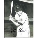"Bobby Thomson Autographed New York Giants 3"" x 4"" Inch Postcard (Unframed)"