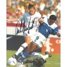 "Carla Overbeck Autographed Soccer 8"" x 10"" Photograph (Unframed)"