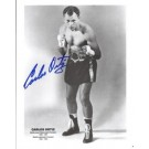 "Carlos Ortiz Autographed Boxing 8"" x 10"" Photograph (Unframed)"