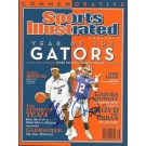 Florida Gators 2006 Championship MVP's Corey Brewer and Chris Leak Dual Autographed Commemorative Sports Illustrated Full Magazine (Unframed)