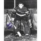 "Chuck Rayner Autographed New York Rangers 8"" x 10"" Photograph Hall of Famer (Unframed)"