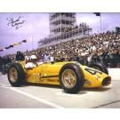 "Chuck Weyant Autographed Racing 8"" x 10"" Photograph (Unframed)"