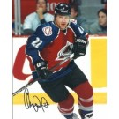 "Claude Lemieux Autographed Colorado Avalanche 8"" x 10"" Photograph (Unframed)"