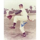 "Clem Labine Autographed Brooklyn Dodgers 8"" x 10"" Photograph (Deceased) (Unframed)"