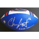 """Chris Leak Autographed Limited Edition Football with """"2006 CHAMPS!"""" Inscription"""