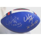"""Chris Leak and Urban Meyer Autographed Football with """"2006 BCS MVP"""" and """"06 NAT CHAMPS"""" Inscriptions"""