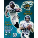 """Mark Brunell & Fred Taylor Autographed 16"""" x 20"""" Photograph - Limited Edition of  99 (Unframed)"""