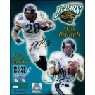 """Mark Brunell and Fred Taylor Autographed 8"""" x 10"""" Photograph - Limited Edition of 99 (Unframed)"""