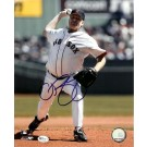 "Curt Schilling Autographed Boston Red Sox 8"" x 10"" Photograph (Unframed)"