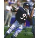 "Dan Hampton Autographed Chicago Bears 8"" x 10"" Photograph Hall of Famer (Unframed)"