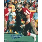 """Dave Wilcox Autographed San Francisco 49ers 8"""" x 10"""" Photograph Hall of Famer (Unframed)"""
