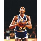 "David Thompson Autographed 8"" x 10"" Photograph (Unframed)"