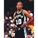 """Dennis Rodman Autographed San Antonio Spurs 8"""" x 10"""" Photograph (Unframed)"""