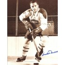 "Dickie Moore Autographed Montreal Canadians 8"" x 10"" Photograph Hall of Famer (Unframed)"